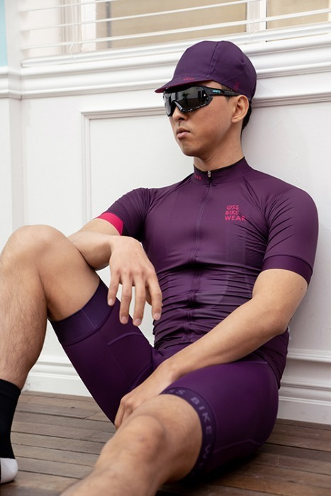 [OBS-113] Performance Bib shorts Purple
